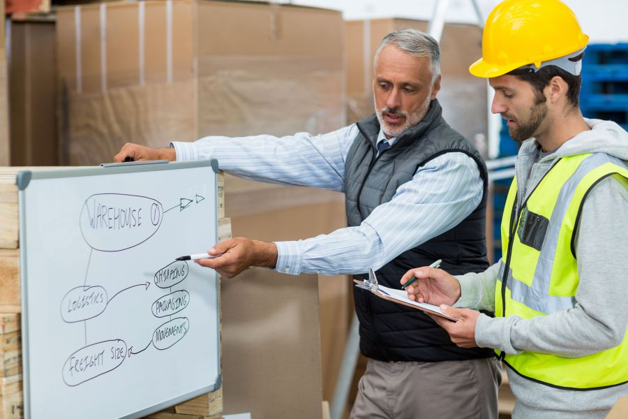 Warehouse personnel by Shipper's Advocate Transportation Experts